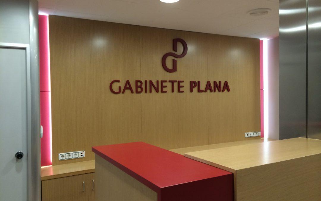 Decoración Gabinete Plana