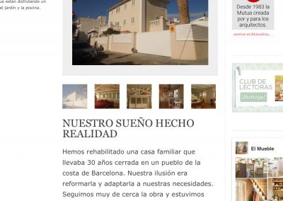 Reportaje revista El Mueble